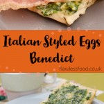 Italian Styled Eggs Benedict images for pinterest