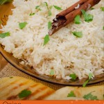 Onion Basmati Rice image for pinterest