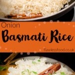 Onion Basmati Rice images for pinterest