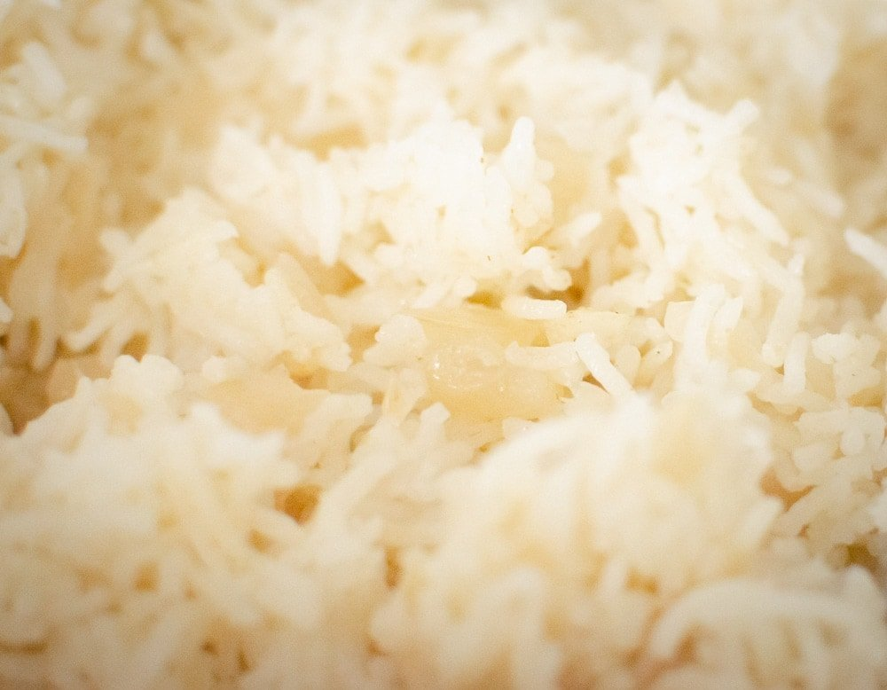 Onion Basmati Rice