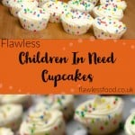 Images of Pudsey bear and our children in need cupcakes for pinterest