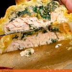 Salmon en croute image for pinterest