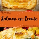 Salmon en croute images for pinterest