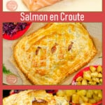 Collage of our Salmon en Croute
