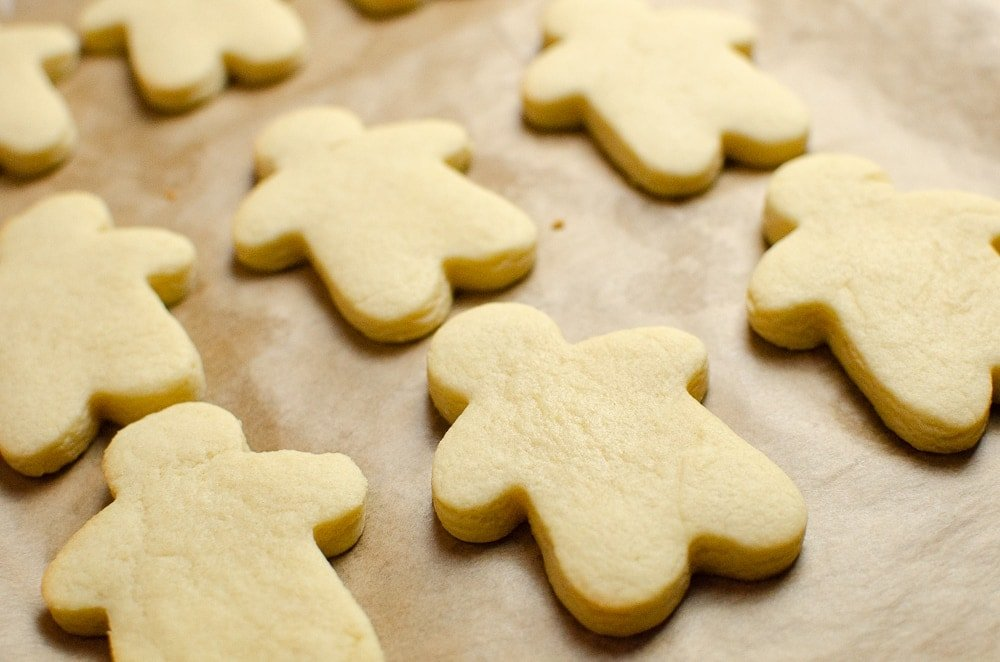 Gingerbread men Christmas biscuits