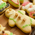 gingerbread men decorated with royal icing