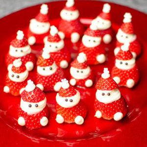 Strawberry Santa's