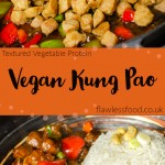 Textured vegetable protein Vegan Kung Pao images for pinterest