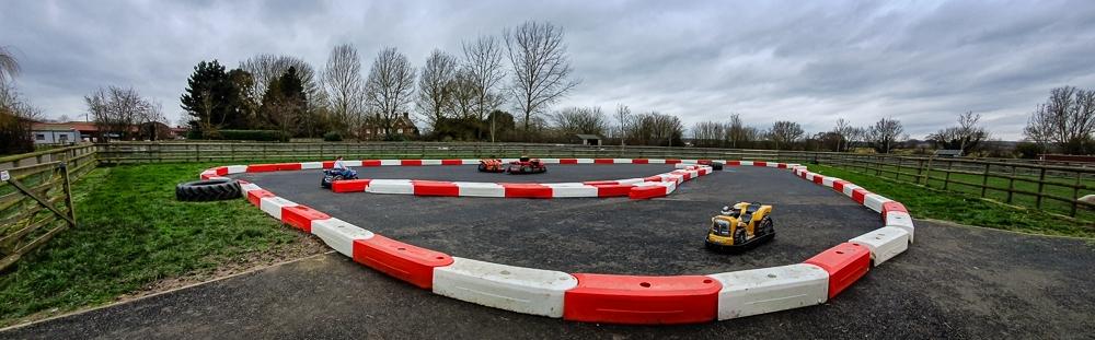 Barleylands Speedway track