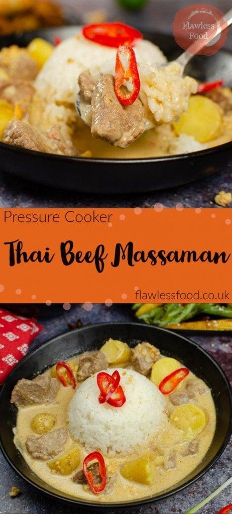 Pressure Cooker Thai Beef Massaman images for pinterest