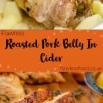 Roasted Pork Belly In Cider