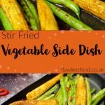 Stir-Fried Vegetable Side Dish