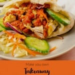 Pinterest picture of our Takeaway Chicken Kebab recipe