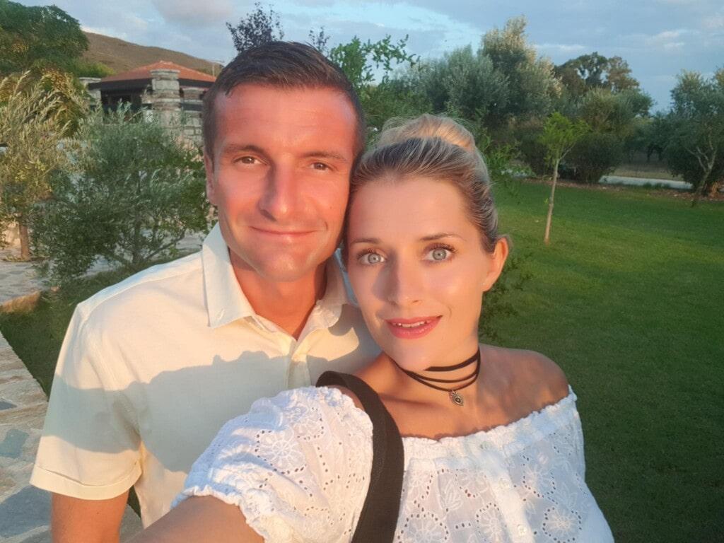 Photo of Kay & Luke from Flawless Food in Zante