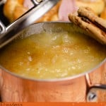 Homemade Apple Sauce image for pinterest