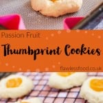 Passion Fruit Thumbprint Cookies images for pinterest