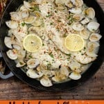 Haddock and Clams in Garlic and Wine Sauce pin image