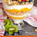 Tropical Granola Yoghurt with Fruit image for pinterest