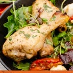 Zesty Italian Chicken Drumsticks pinterest image