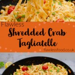 Images of Shredded Crab Tagliatelle for pinterest