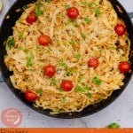Image of Shredded Crab Tagliatelle for pinterest
