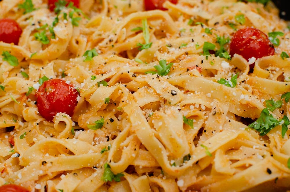 Flawless Shredded Crab Tagliatelle