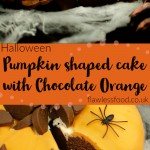 Pumpkin shaped cake with Chocolate Orange images for pinterest