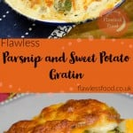 pin image parsnip and sweet potato gratin