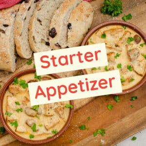 Starter Appetizer Recipes